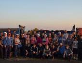 Педагогический коллектив и обучающиеся ГОУ НПО ПУ-51 на уборке картофеля
