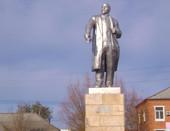Памятник В. И. Ленину в п. Горный Саратовской обл.