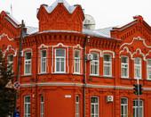Недавно отреставрированное здание