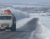 Наши дороги зимой