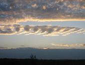 закат в Сосновке