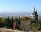 Пятигорск. Вид на город с горы Машук.