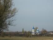 Пейзаж с церковью ПОКРОВА БОЖИЕЙ МАТЕРИ