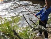 история о том, как мы с подружками ходили на рыбалку и поймали золотую рыбку