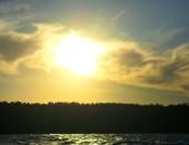 Берег реки Волги. Ульяновск