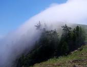 Туман на Ольхоне (оз. Байкал)