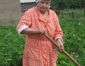 Моя любимая бабушка.
